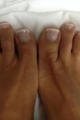 French Manicure tenen